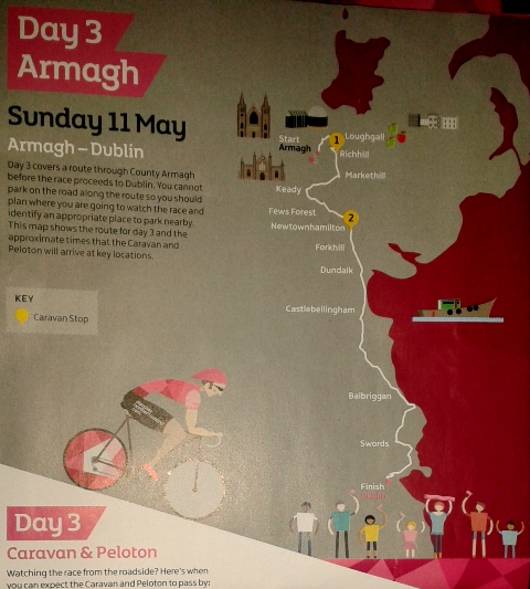 Day 3 Armagh to Dublin