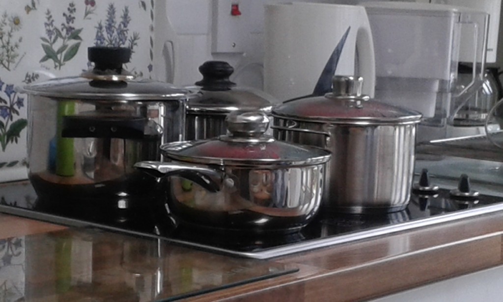 puddings boiling