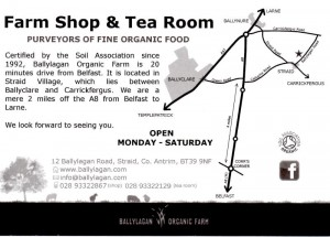 Ballylagan Organic Farm shop