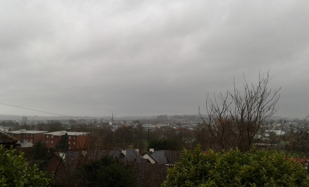 The Sky has a hangover today