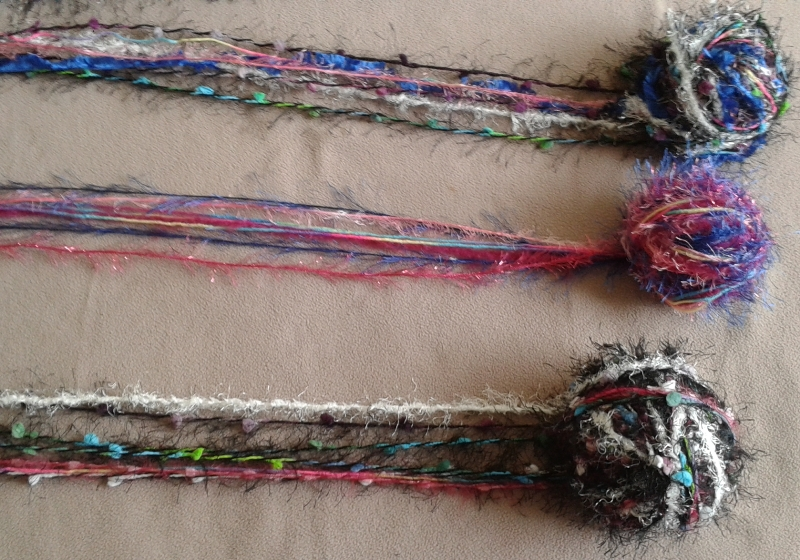 eight strands per ball