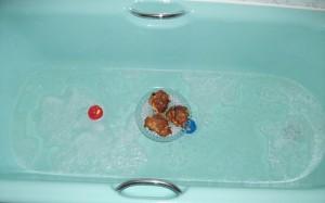 Bath buns