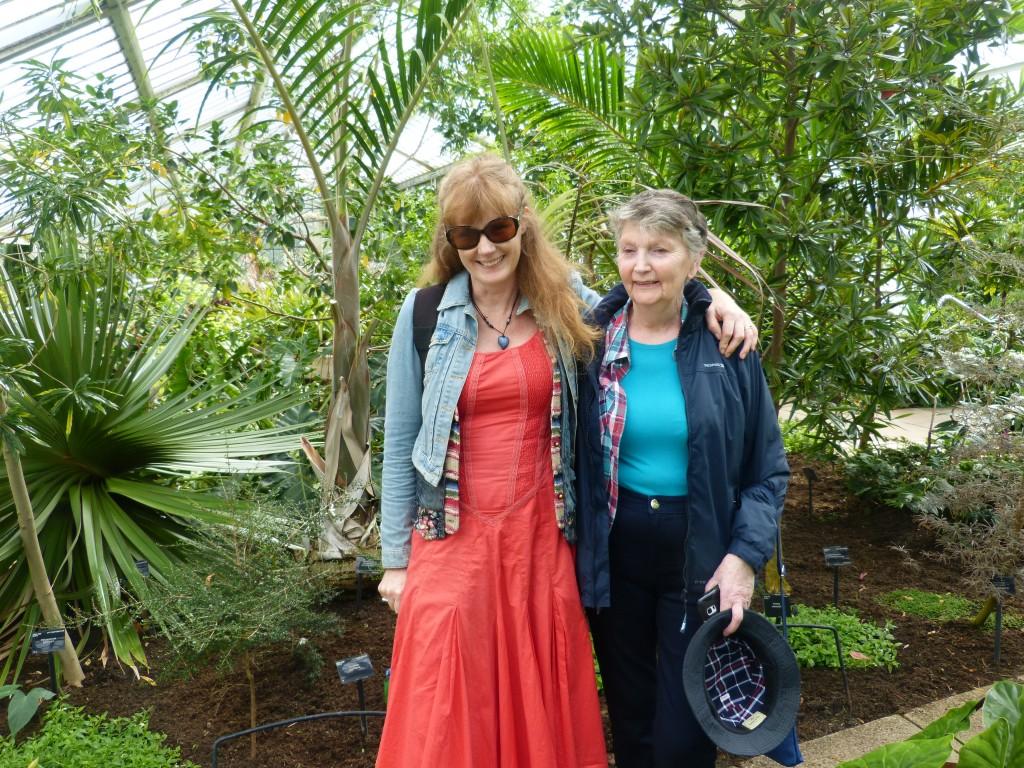 With Barbara my niece