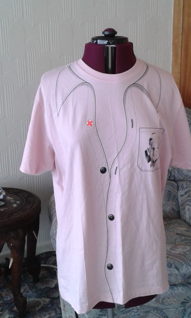 John Button pink t-shirt